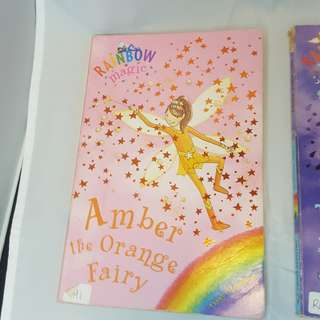 Amber The Orange Fairy (Rainbow Fairies #2)