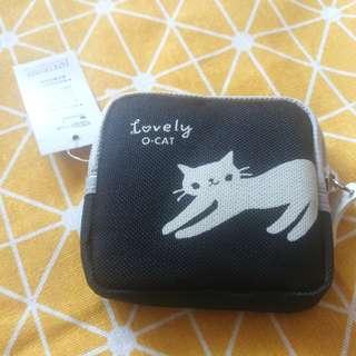 🚚 小貓咪黑色錢包