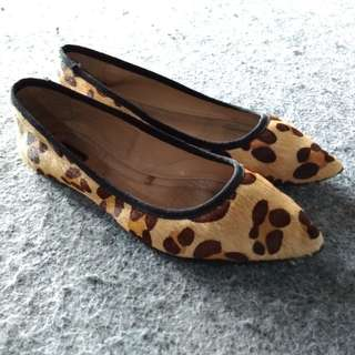 Flat shoes zara size 37