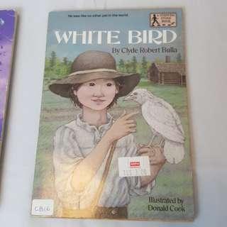 White Bird (Stepping Stone, paper) by Clyde Robert Bulla