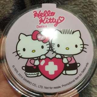 Hello kitty x Dettol mini mirror