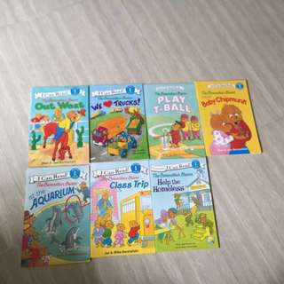 (New) Berenstain bears I can read beginning reading level 1