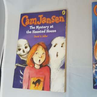 The Mystery at the Haunted House (Cam Jansen Mysteries #13)