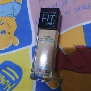 Maybelline FitMe Foundation (128 Warm Nude)