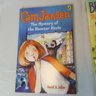 The Mystery of the Monster Movie (Cam Jansen Mysteries #8)