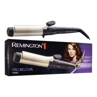 Remington Professional Jumbo Hair Curling Wand Big 38mm Tong 140C -210C