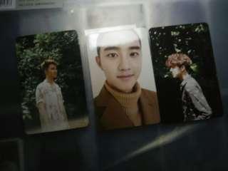 [sell/change] EXO photo card change baekhyun