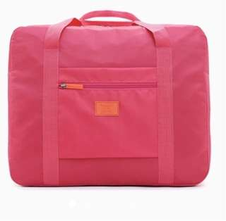 Waterproof Foldable Travel Bag (Pink)