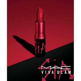 [AUTHENTIC] MAC SIA VIVA GLAM Lipstick