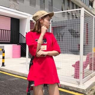 Red Dress Tee