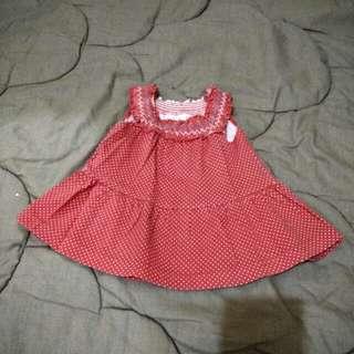 Polkadot baby dress
