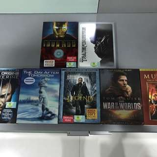 DVD Movies code 1 from US