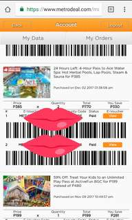 Ace Water Spa Tickets for 2