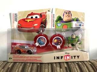 Disney Infinity Lightning McQueen and Buzz Lightyear