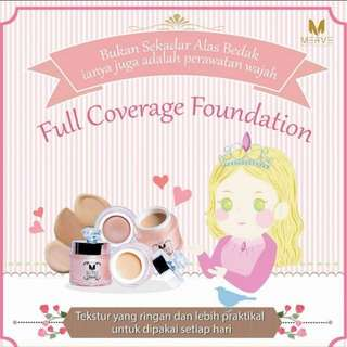 MERVE Cosmetics Full Coverage Foundation