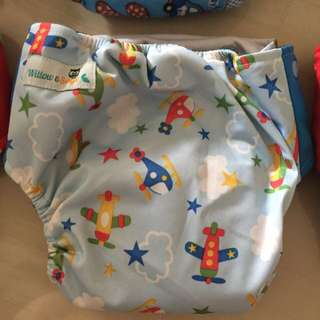 Bamboo Charcoal Baby Cloth Diaper