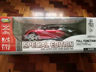 Radio Control scale model sports car