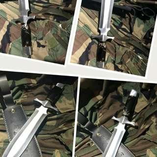 美國原裝進口D2鋼格鬥劍