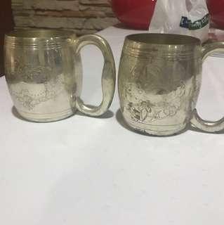 Brass cups (2)
