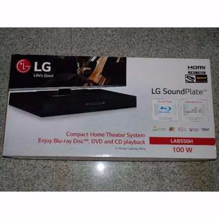 Brand New LG Home Theatre WITH BLURAY, DVD & USB PLAYBACK