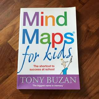 Tony Buzan - Mind Maps for Kids (original price:$28.00)