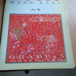 Theory of Music Made Easy - Grade 5