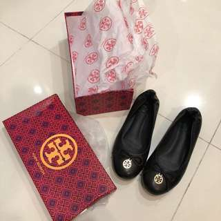 Tory Burch ORIGINAL NEW shoes black, leather