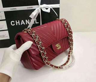 Promotion Price Only! Authentic Chanel 26cm Handbag Slingbag(Cavier Leather)