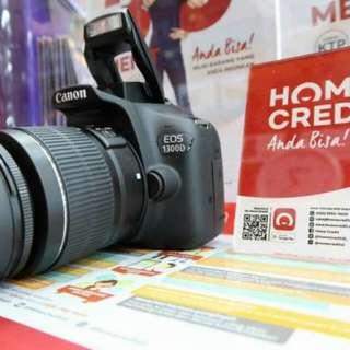 KREDIT Cepat CANON 1300D + wifi Garansi Resmi Canon 1 thn