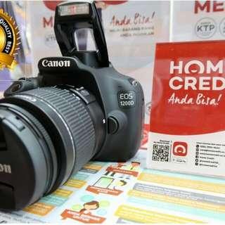 KREDIT Cepat Canon 1200D Garansi Resmi Canon 1 thun