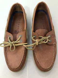 Authentic Sperry TOP-sider leather shoe size 9.5