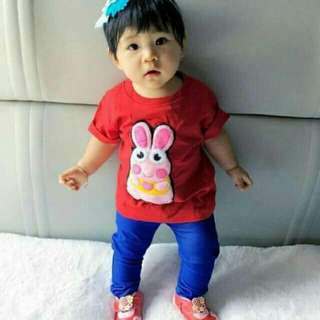 Soft jeans strechable kid color electic blue only