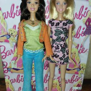High School Musical - Gabriella and Sharpay Barbie dolls