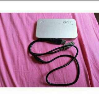 Portable harddrive