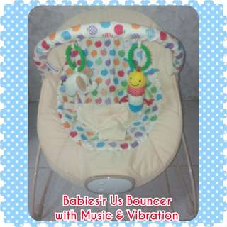 Babies'r Us (of ToysRUs) Bouncer with Music & Vibrations
