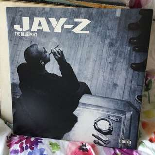 Jay Z - Blueprint - vinyl Lp - Blue colour promo copy