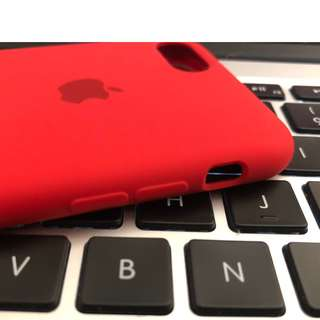 Silicone Case for iPhone 7 (Product Red)