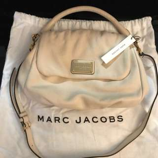 NWT Marc Jacobs Leather Handbag in 'Shell'