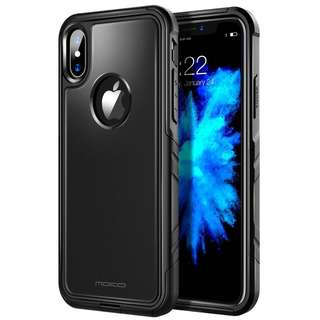 MoKo Dual Layer Hybrid case for the iPhone X (Black)