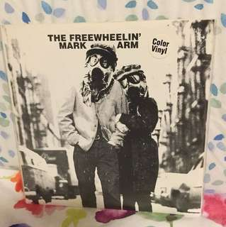 "Freewheelin' Mark Arm - 7"" vinyl rare sub pop single - grunge Mudhoney"