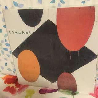 "Blanket - 7"" vinyl record single - grunge era"