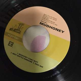 "Mudhoney - funky butt 7"" vinyl record single - grunge era"