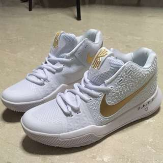 Kyrie 3 White Gold