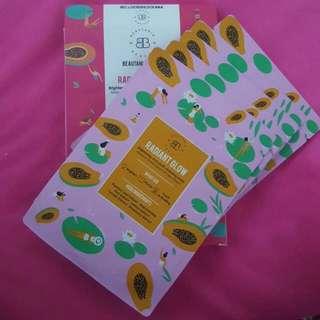 Beautaniq Beauty Radiant 5pcs Mask Set