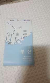 SOUTH KOREA GYEONGSANGDO BUSAN MAP