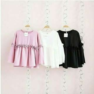 Blouse Simply Cropy