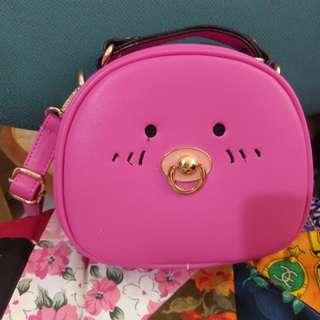 Cute Pink Mini hand bag