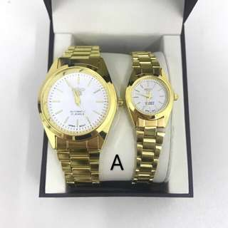 Seiko Gold / Silver Watches with box