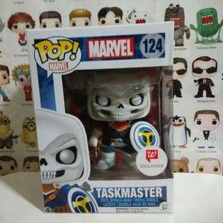 Funko Pop Taskmaster Walgreens Exclusive Vinyl Figure Collectible Toy Gift Comic Marvel
