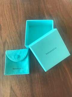 Tiffany jeweller box set